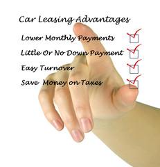 Car leasing advantages checklist