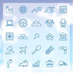 25 economy icons