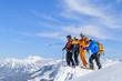Freerider am Gipfel