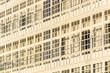 Wooden glazed windows in A Coruna, Galicia, Spain.