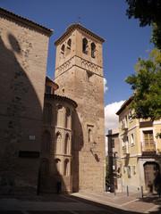 Abside y campanario de Santo Domingo el Antiguo, Toledo, España