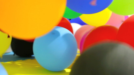 Party Balloons bouncing