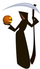 Death and pumpkin