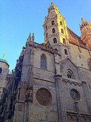 St.Stephen's Cathedral in sunshine
