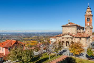 Church in Diano D'Alba, Italy.