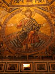 Pantocrator Baptisterio Santa Maria del Fiore, Florencia, Italia
