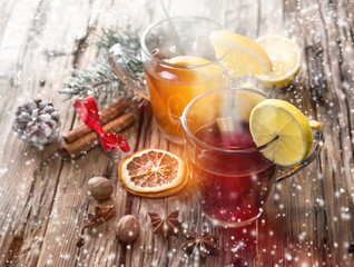 Christmas mull and punch