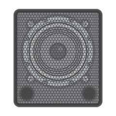 vector solid colors concert Subwoofer Speaker