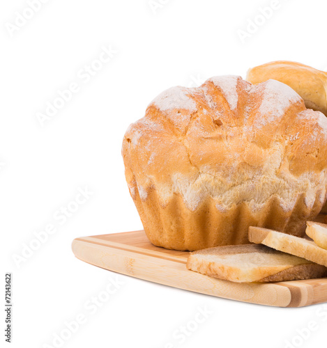 canvas print picture Appetizing bread