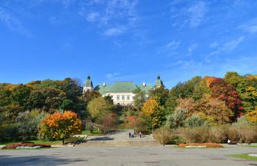 Ujazdowski Castle fall season
