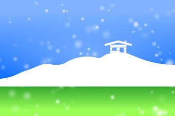 bergütte schnee I