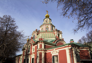 Москва. Церковь Иоанна Воина.