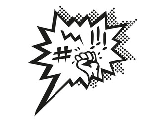Ärger und Wut Comic Sprechblase