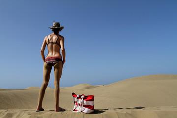 Dunes in Gran Canaria