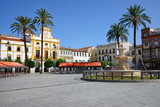 Spain Square in Merida.