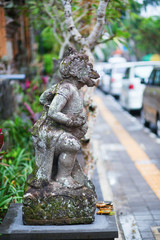 Traditional Balinese sculpture in Ubud