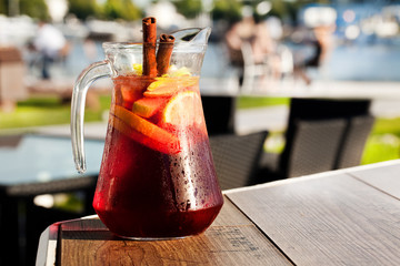 sangria with red wine