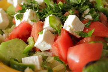 Greek salad macro