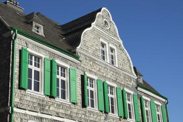 Bergisches Haus in Solingen-Gräfrath, NRW, Deutschland