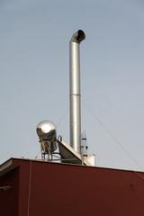 Greek solar water heating system