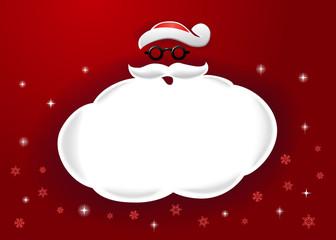 Santa Speech Bubble