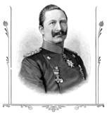 Portrait of Wilhelm II, German Emperor.