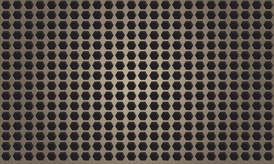 Abstract bronze metal background with pattern - vector