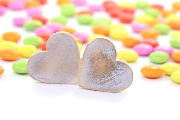 Bonbons Herzen