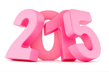 2015 New Year digits