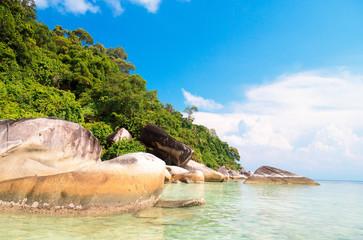 Beautiful Sea Lagoon Boulders