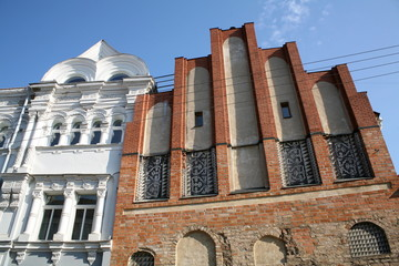 Buildings in the Old Town of Vilnius