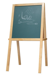 Stand blackboard
