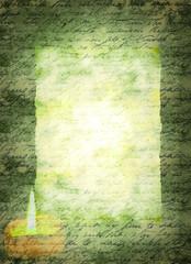 Briefpapier Alte Schrift