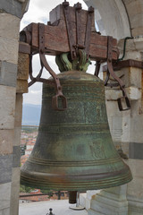 Bell in Leaning Tower of Pisa