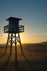 Vigilancia playa