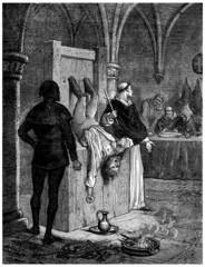 Inquisition : Torture !!! - 13th century