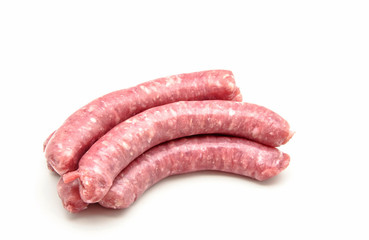 fresh meat sausages