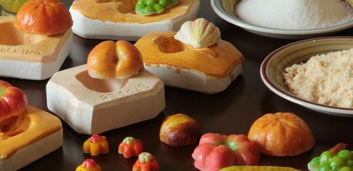 La frutta di martorana e gli stampi