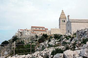 Lubenice on island Cres, Croatia