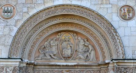 église...relief