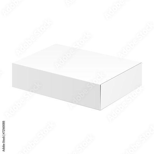 White Product Cardboard Package Box - 72160088