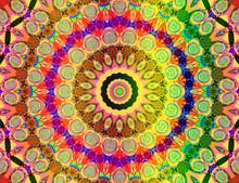 Schönen farbigen Mandala