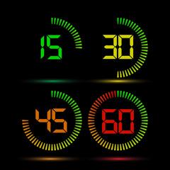 Digital timer variations