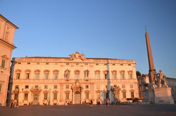 Plac na Kwirynale w Rzymie, Włochy