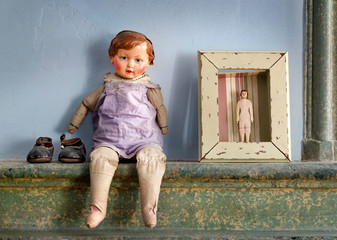 Puppe Symbol Persönlichkeitsstörung Seele Psyche