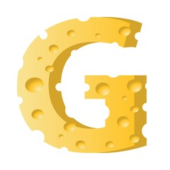cheese letter G