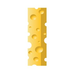 cheese letter I