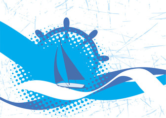 Yacht club banner