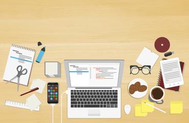 Realistic workplace organization