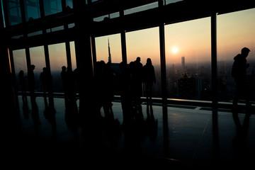 Milano dal palazzo Regione Lombardia - Milan panoramic viewpoint